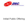 Advanced Switching Communications (ASC) Initial Public Offering