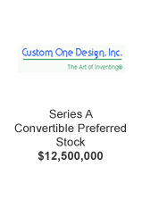 Custom One Design Inc Series A Convertible Preferred Stock