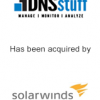 DNIstuff has been acquired by solarwinds