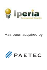 Iperia has been acquired by Paetec