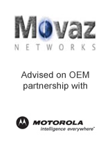 Movaz Networks advised on OEM partnership with Motorola