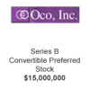 Oco Inc Series B Convertible Preferred Stock