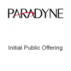 Paradyne Initial Public Offering